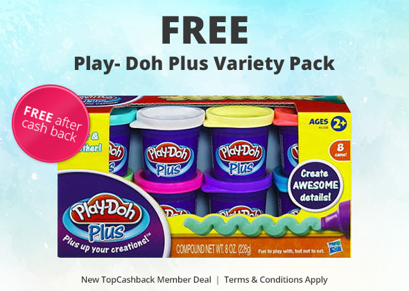 FREE Play-Doh Plus Variety Pac...