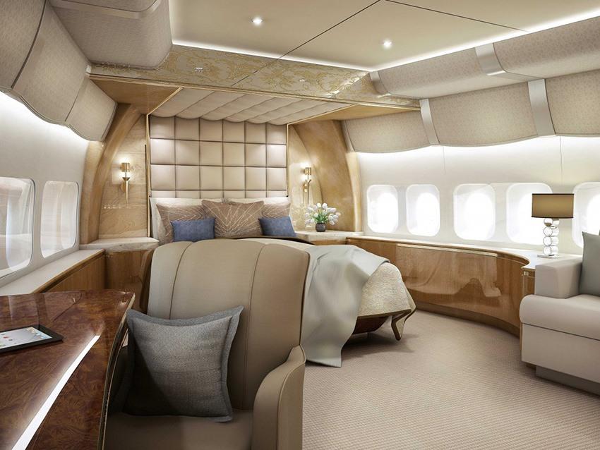 luxury flight/first class flight