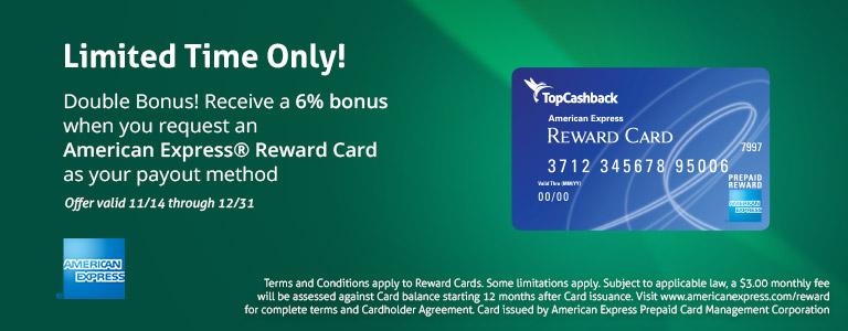 6 card bonus payouts